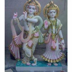 Marble Radhe Krishna Jugal Jodi Statue