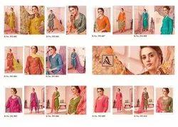 Alok Suit Miraki Innovative Style Beautifully Designed Salwar Suits