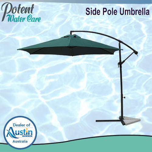 PW Green Side Pole Umbrella