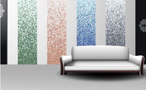 Pearl Mosaico Gradient Glass Mosaic Interior Tile