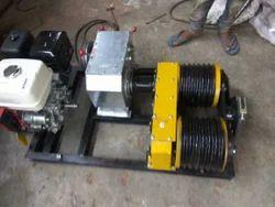 Petrol Operated Motorized Winch