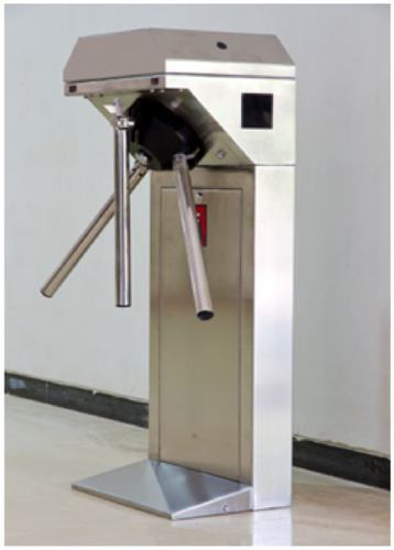 And Stainless Steel And Single Phase Tripod Turnstile (Slim Housing) - Motorised Operation u0026 & And Stainless Steel And Single Phase Tripod Turnstile (Slim Housing ...