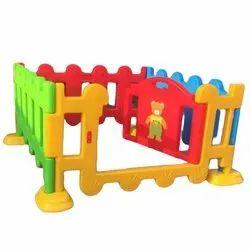 Rectangular Nursery School Plastic Fence