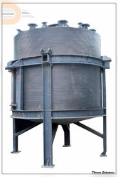 HDPE Conical Bottom Reaction Vessel