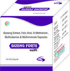 Men Ginseng Extract with Multivitamins Capsule, Application:Growth