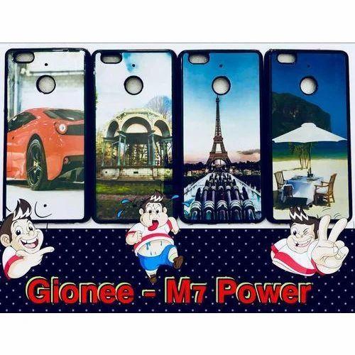 big sale 9d3bb 76e9d Gionee M7 Power Hd Metallic Mobile Cover