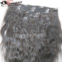 Indian Remy Human Clip Hair Extension