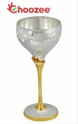 Brass Wine Glass