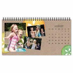 Custom Printed Table Calendar