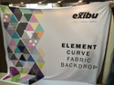 EXIBU Printed Cloth Banner