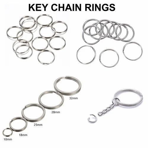Metal Key Chain Rings