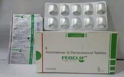 Aceclofenac And Paracetamol Tablets (FEOCLIF-S)