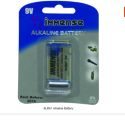 IMMENSE 6LR61 Alkaline Battery
