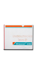 Ursocol Ursodeoxycholic 300mg Tablet