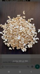 Desire LWP Split Cashew Nut, Packaging Type: Packet, Packaging Size: 10 Kg