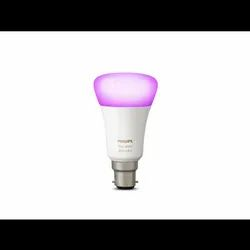 Philips White & Color Ambiance  B22 Single Bulb