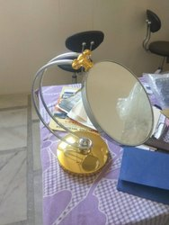 Round Shaped Table Top Mirror