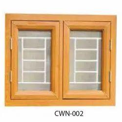Modern Brown Galvanized Steel Window