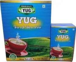 Tea Packaging Box (Siliver Pouch Facility Available)