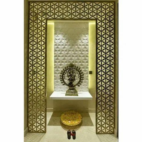 Pooja Room MDF Designer Jali, For Decoration, Rs 70 /square feet ...