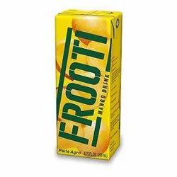 Parle Agro 200ml Frooti Mango Drink, Packaging Type: Tetra Pak