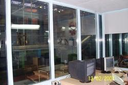 Transparent Glass Thermosonic Acoustic Windows for Noise Barriers