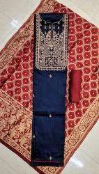 Yadgar Enterprise Jam-Satin Designer Salwar Suit