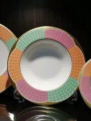 Dinner Printed Bowl