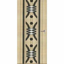 Swastik Rectangular Designer Wooden Laminated Interior Door, Features: Termite Proof