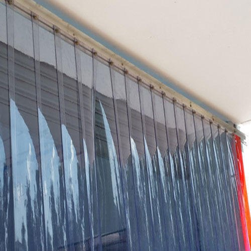 Saheli White Plastic Industrial Strip Curtains Rs 140