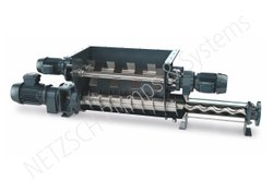 Bridge Breaking Paddle Screw Pump