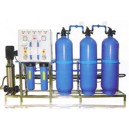 Automatic SS   Powder coating RO Plant, Number of Filtration Passes: 2, Number of Membranes in RO: 3