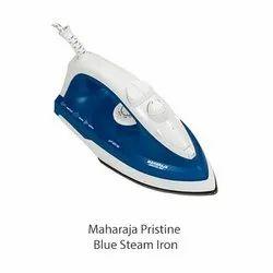 1300 Watt Maharaja Pristine Blue Steam Iron, 230 V