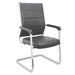 SPS-256 Workstation Black Leather Chair