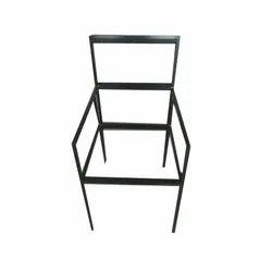 Blaok Mild Steel Chair Frame, Size: 2 Feet