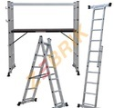 Tools Tray Aluminium Folding Platform Ladder