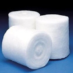 Plain Absorbent Cotton Wool, Packaging Type: Roll In Poly Pack