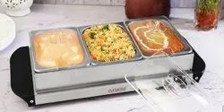 Clearline Electric Food Warmer And Buffet Server, Capacity: 1.5 Litre
