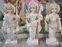 Ram Laxman Sita Marble Statue