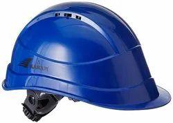 Karam Ventilation Safety Helmet Having Plastic Cradle - Blue