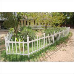 White UPVC Fencing for Garden