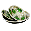 Rawsome shack Mother Of Pearl Serving Dishes