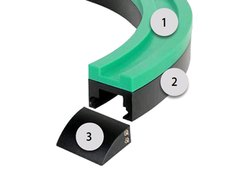 Magnetic Corner Track