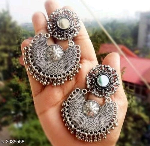 Stylish Oxidized Metal Women's Earrings at Rs 120/set   Pune   Pune  ID:  21261854030
