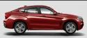 Red Bmw X6 Car
