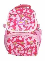 Plastic Zip Red School Bags