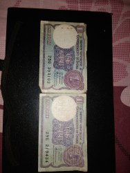 One Rupee Notes
