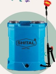 Battery Cum Hand Operated Sprayer, Capacity: 16l