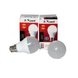 Cool Daylight 6 W - 10 W Xcent LED Bulb, Voltage: 220v, Base Type: B22