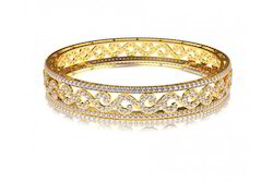 Wedding Diamond Bangles